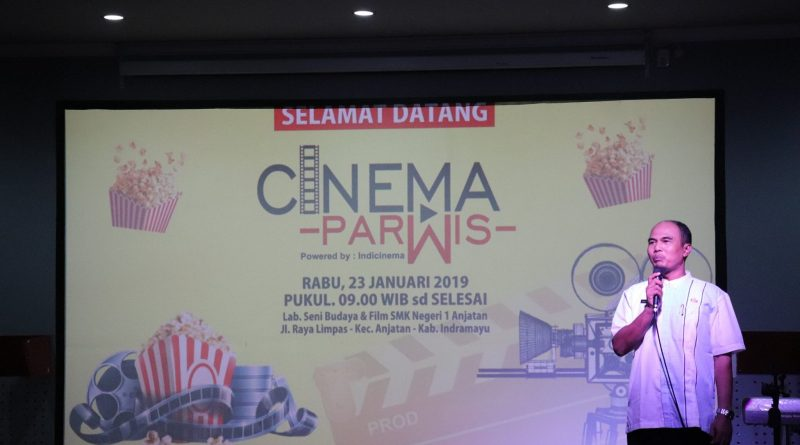 Launching Bioskop Cinema Parwis – Kepala SMKN 1 ANJATAN
