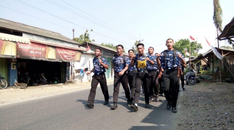 Mengikuti Lomba Grak Jalan Di Kecamatan Anjatan