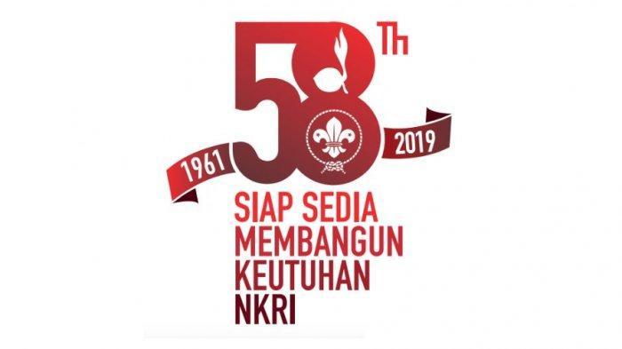 Perwakilan SMKN 1 Anjatan Hadiri Upacara Hari Pramuka Ke-58 Di Alun-alun Kecamatan Anjatan