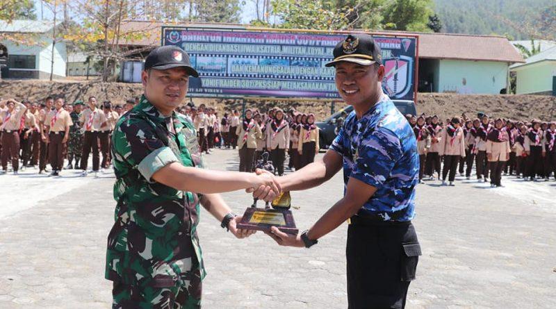 Latihan Dasar Kepemimpinan ( LDK ) Di YONIF 301 Kiansantang, Sumedang