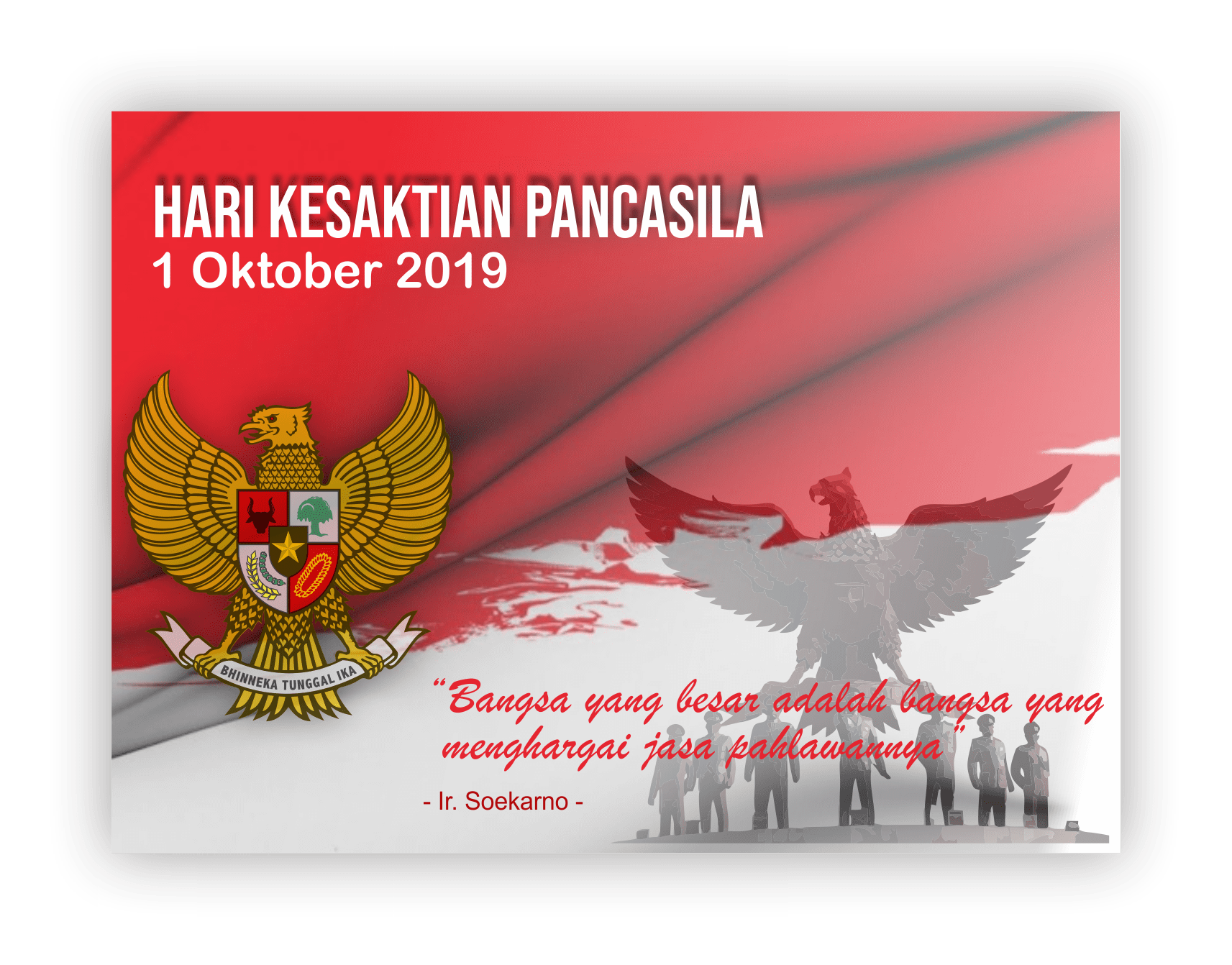 Hari Kesaktian Pancasila - SMK Negeri 1 Anjatan