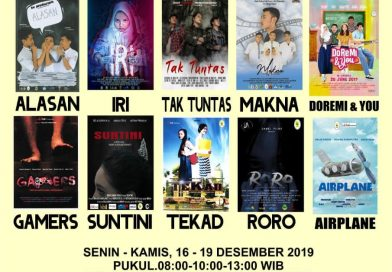 Movie Day Parwis – 16 s/d 19 Desember 2019