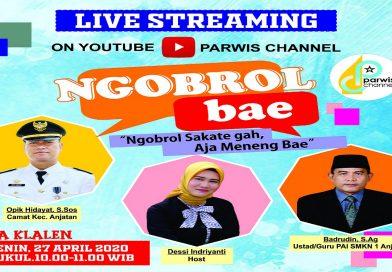 "Live Streaming Youtube ""Ngobrol Bae Episode 4"""