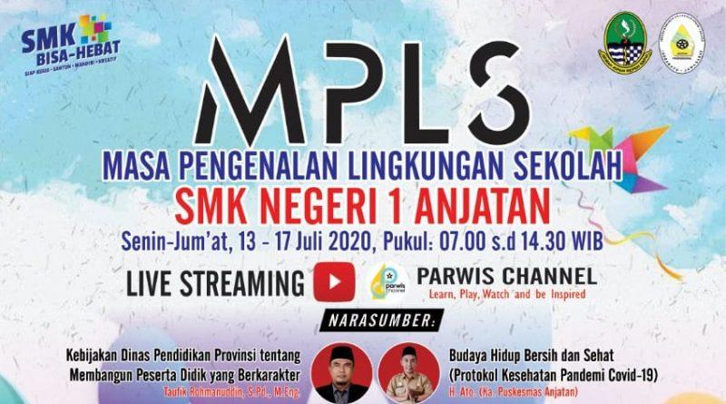 Pelaksanaan MPLS SMK Negeri 1 Anjatan Tahun 2020/2021